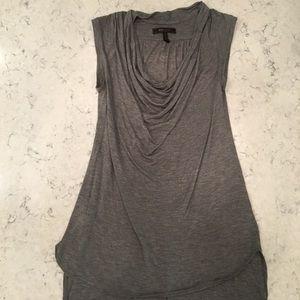 BCBG grey shirt